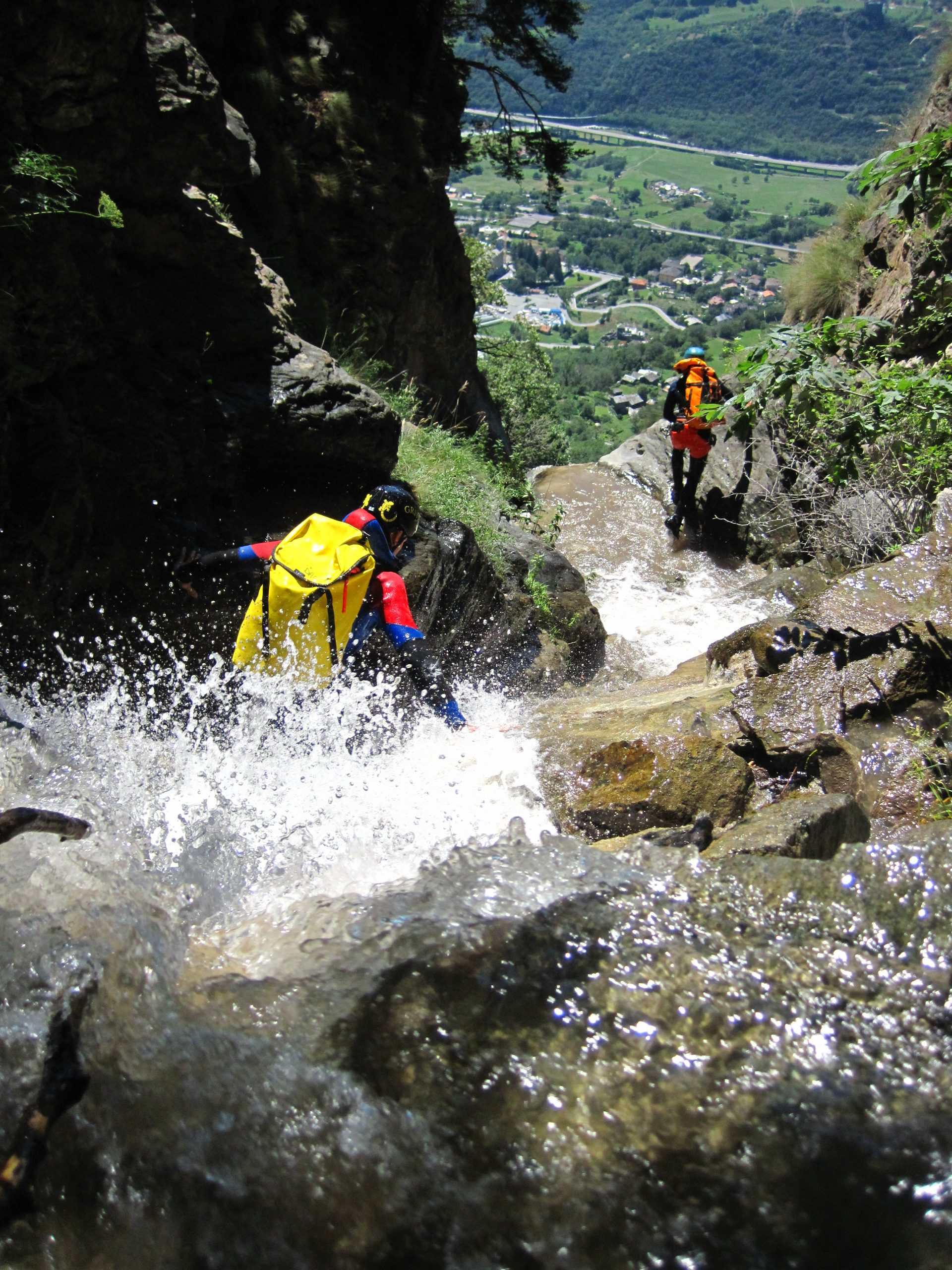 Discovery, Fun, Adventure Canyoning,siete pronti?